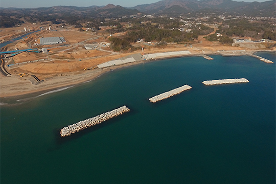 中島海岸災害復旧工事