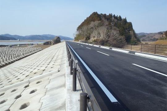 北上川下流月浜地区築堤(その3)工事